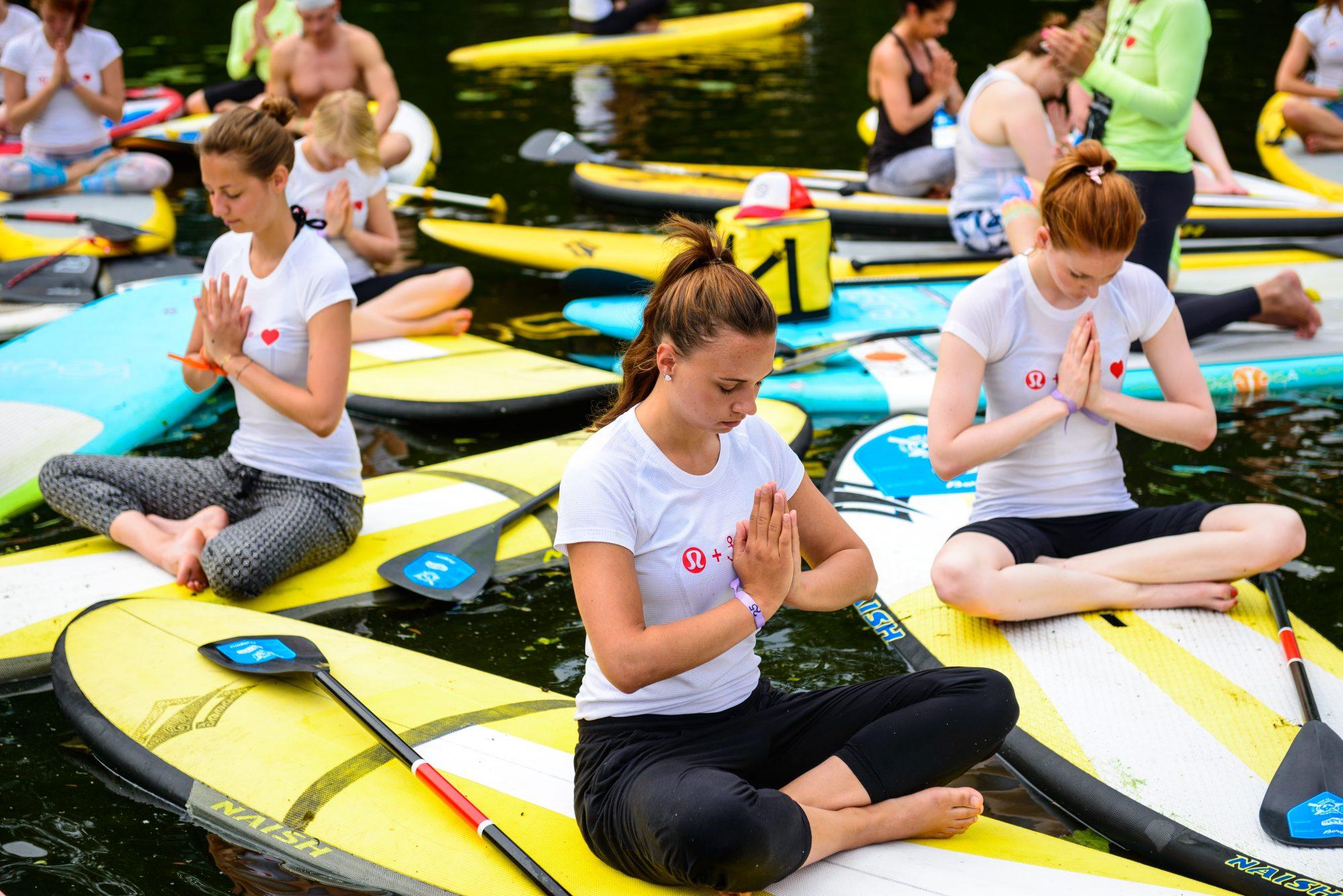 SUP Yoga Kurs