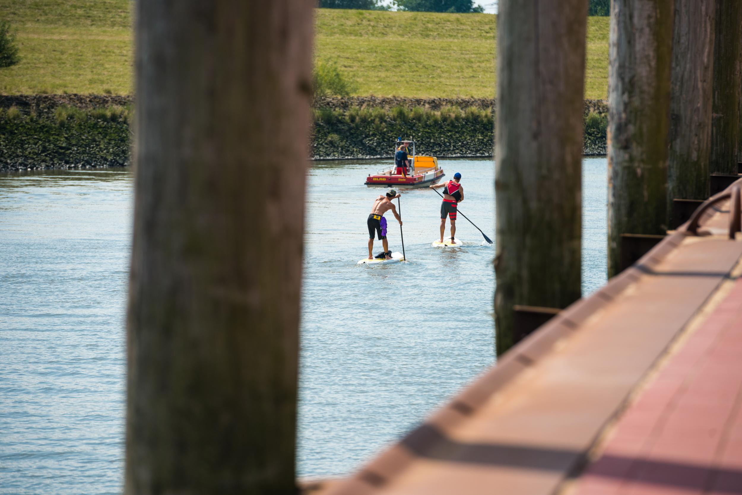 SUP Tour Unterlauf Schwinge zur Elbe