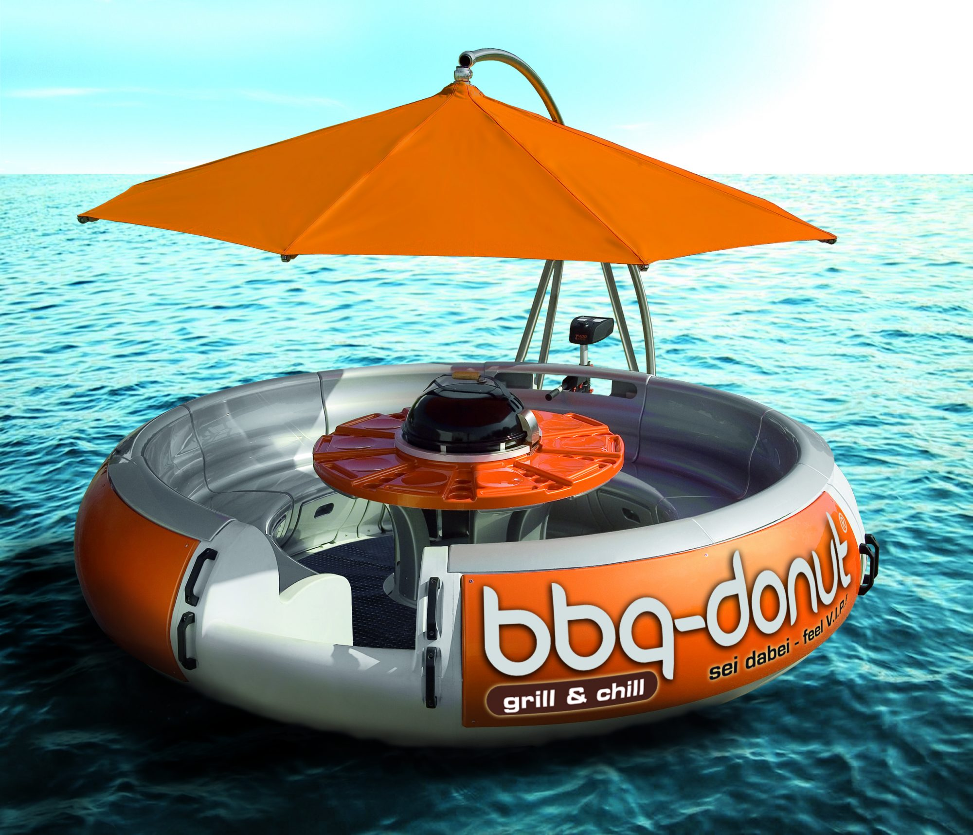 BBQ Donut - Float & Grill - SUP Clubs